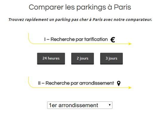 parking paris 5