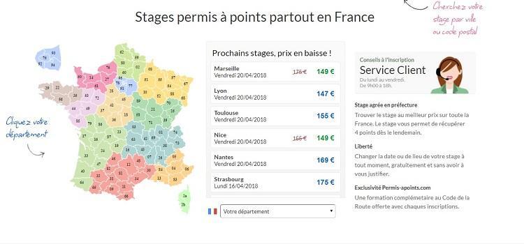 stage de récupération de points Villeurbanne