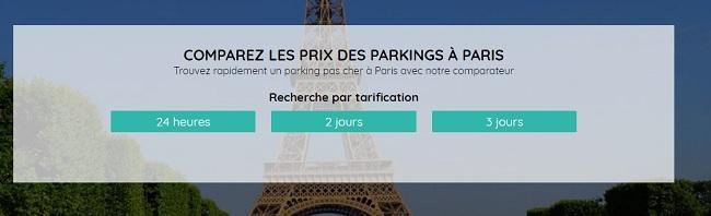 parking pas cher paris
