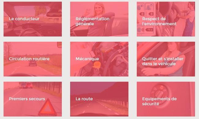 code de la route gratuit en ligne
